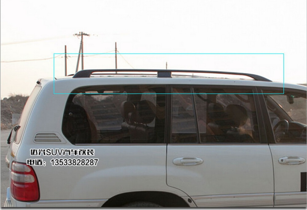 High Quality!Roof Rack/Luggage rack Roof Racks Accessories For Toyota LAND CRUISER PRADO FJ100 4500/4700 1998-2007.Free shipping(China (Mainland))