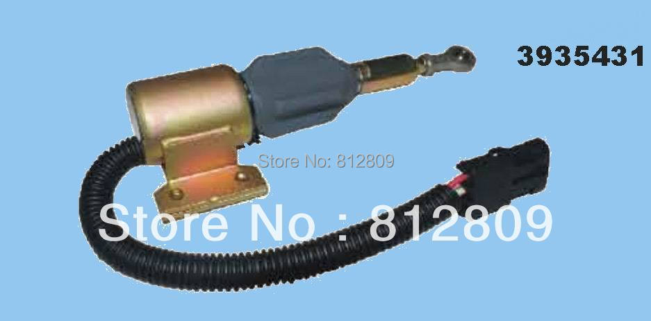 3935431 SA-4756-12 Fuel Shutdown Solenoid Valve 6BT 5.9L +fast free shipping by TNT/DHL,UPS(China (Mainland))