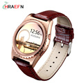 HRAEFN Q8 Fashion Smart Watch Heart Rate monitor Bluetooth Smartwatch reloj intelige For IOS Android PK
