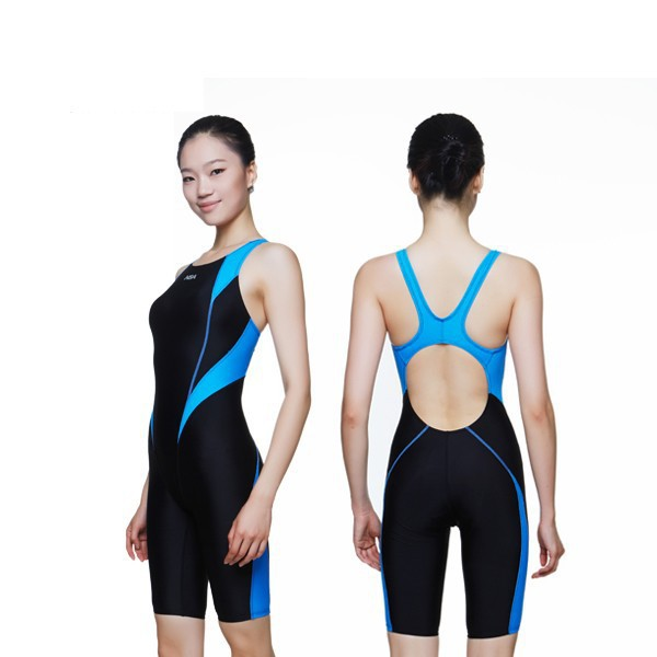 NSA one piece swimsuit sport suit lady bodybuilding professional swimwear plus size bathing suits for women(China (Mainland))