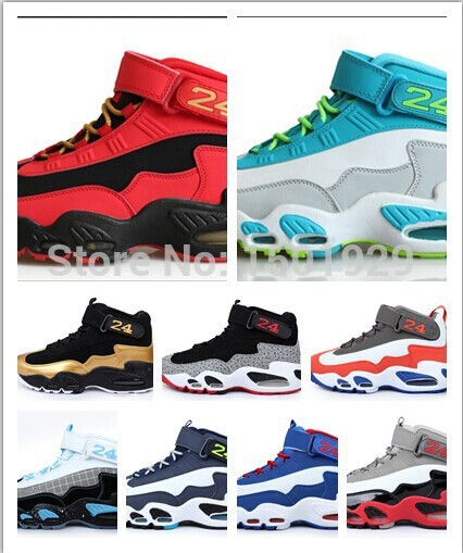 Hot sale Fashion Griffey Jr Basketball Shoes for men Brand Ken Griffs Mens Athletic Sports footwear Free shipping size 41-47(China (Mainland))