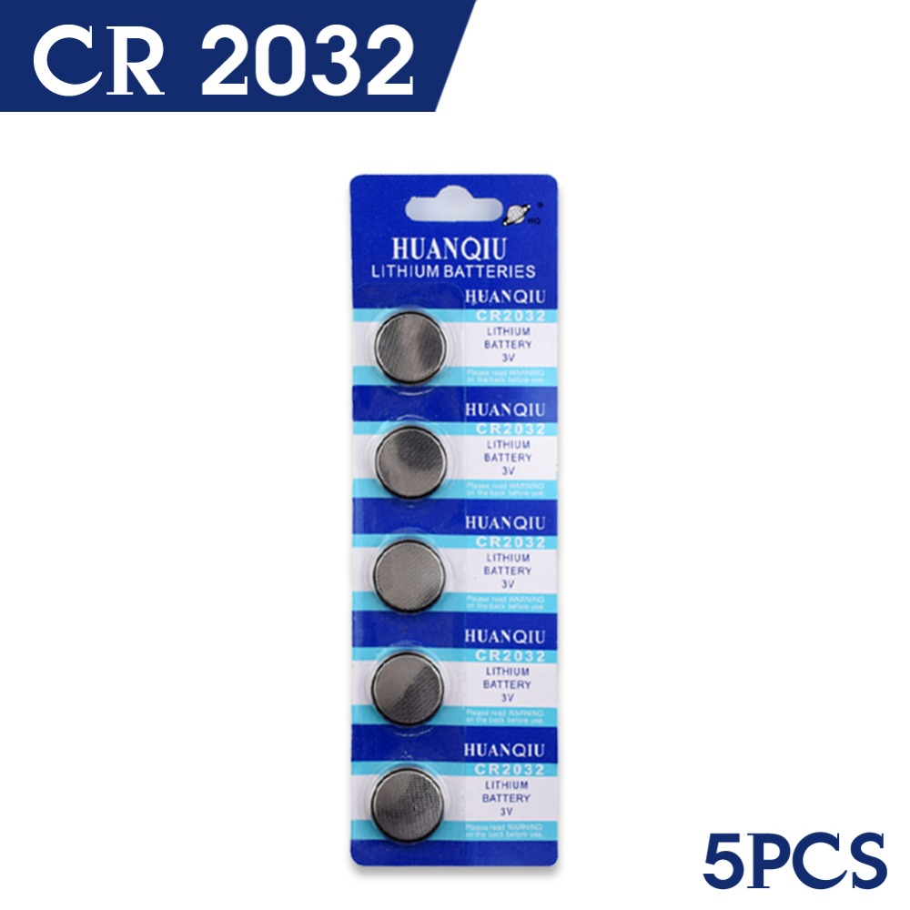 Fast Selling 5 PCS CR2032 DL2032 KCR2032 5004LC ECR2032 Good Quality Battery