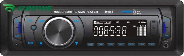 One DIN Car MP3 Player Car Radio player with USB/SD/MMC/Slot with remote controller KF-V5004+ 1 year warranty