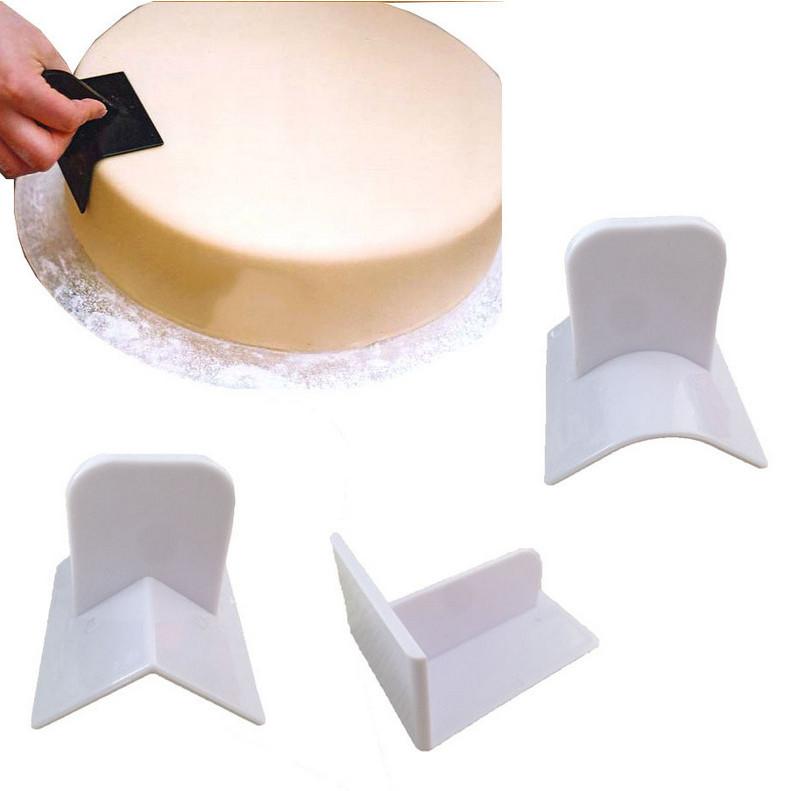 NEW Cake Smoother Polisher Smooth Tools Fondant Cake Tools Mould Surface Polishing Pastry Molds Cupcake Icing DIY(China (Mainland))