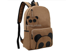 2 Colors Casual Simple Fashion Women Girls Cute Cartoon Bear Backpack/School Bags/Computer/Travel Bag(China (Mainland))