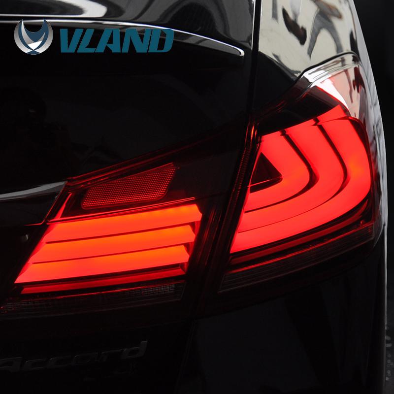 for 2014 2015 Year Honda accord car auto led tail light lamp(China (Mainland))