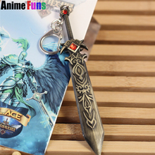 Buy 12cm Game League Legends Weapon Keyring Death knight Garen LOL Sword Model Pendant Keychain Charm Gift drop-shipping for $1.74 in AliExpress store