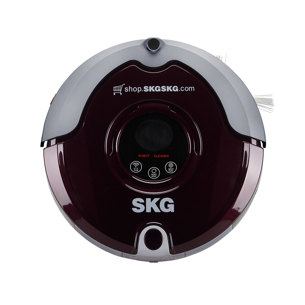 Skg xc3825 remote control home smart robot vacuum cleaner ultra-thin automatic charge vacuum cleaner warranty