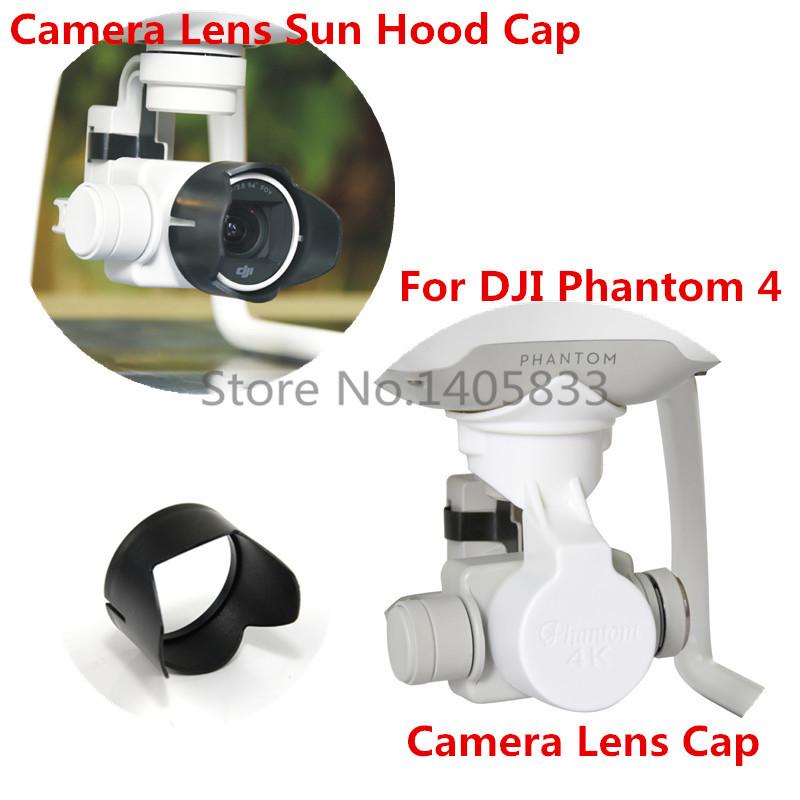 DJI Phantom 4 3 Professional & Advanced Camera Lens Cap Protector with Gimbal Stabler Lock & Camera Lens Sun Hood Sunshade Cap(China (Mainland))