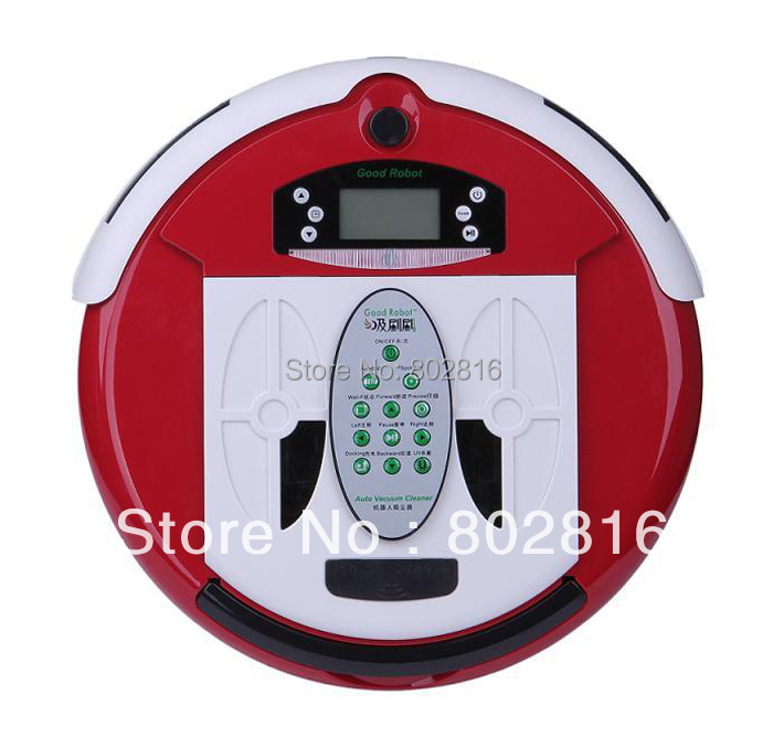Free Shipping To Brazil By EMS Wet&Dry Mop Intelligent Vacuum Cleaner Robot With Dirt Detection Function,UV Lamp, Remote Control(China (Mainland))