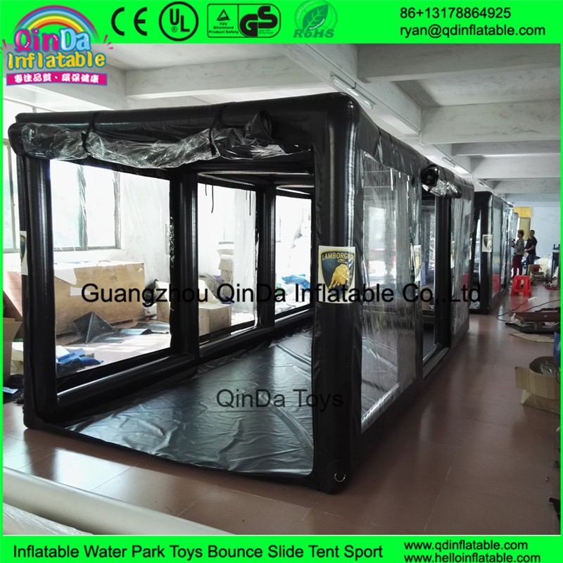 Leaking Garage Tent : Outdoor trade show bubble tent inflatable transparent