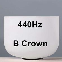 "CVNC 8inch Note C/D/E/F/G/A/B Chakra Frosted Quartz crystal Klankschaal 8 ""Meditatie + Rubber Sticker inbegrepen(China)"