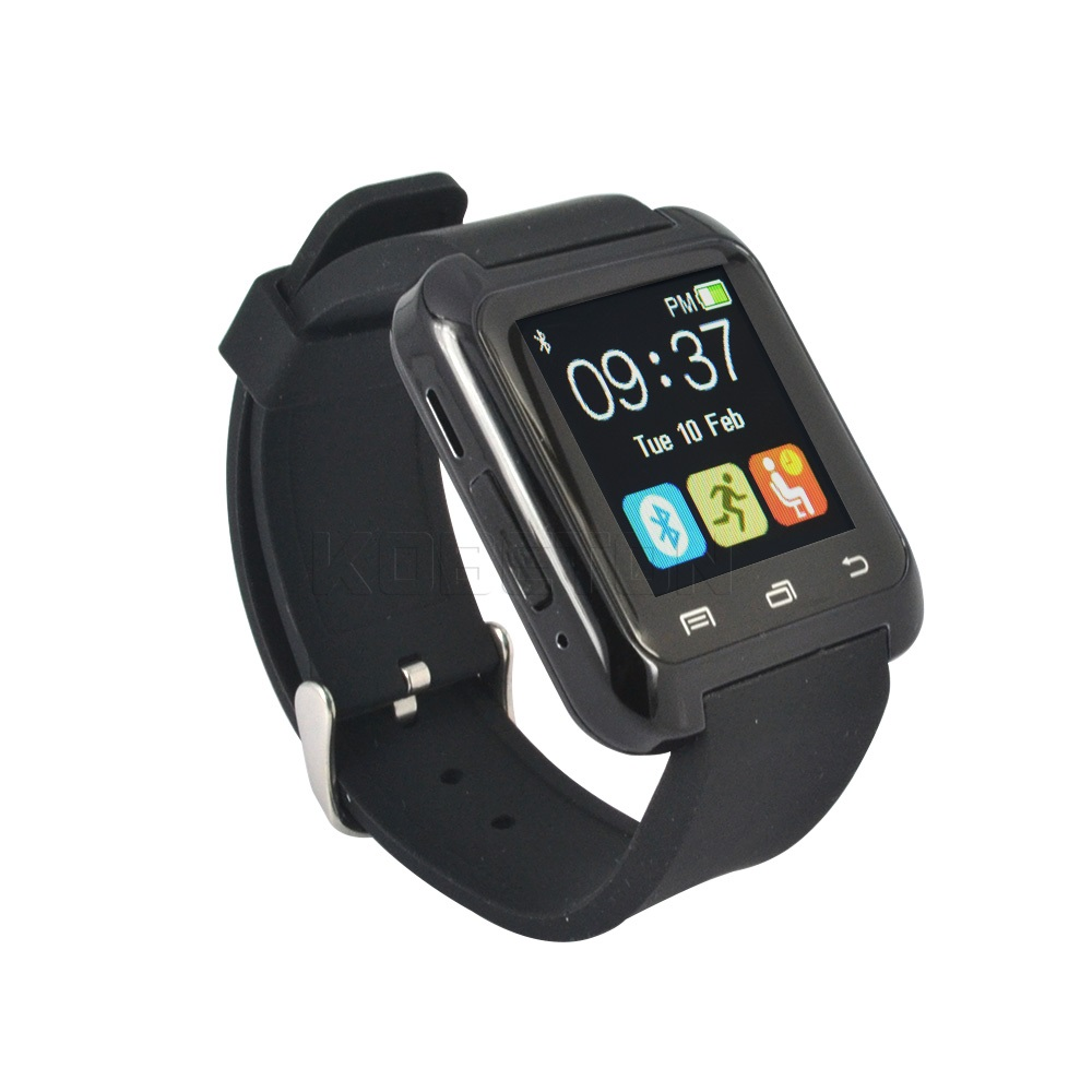 Bluetooth U80 Smart Watch BT-notification Anti-Lost WristWatch for iPhone 5/5S//6S Samsung S4/Note 2/Note 3 Android Phone<br><br>Aliexpress