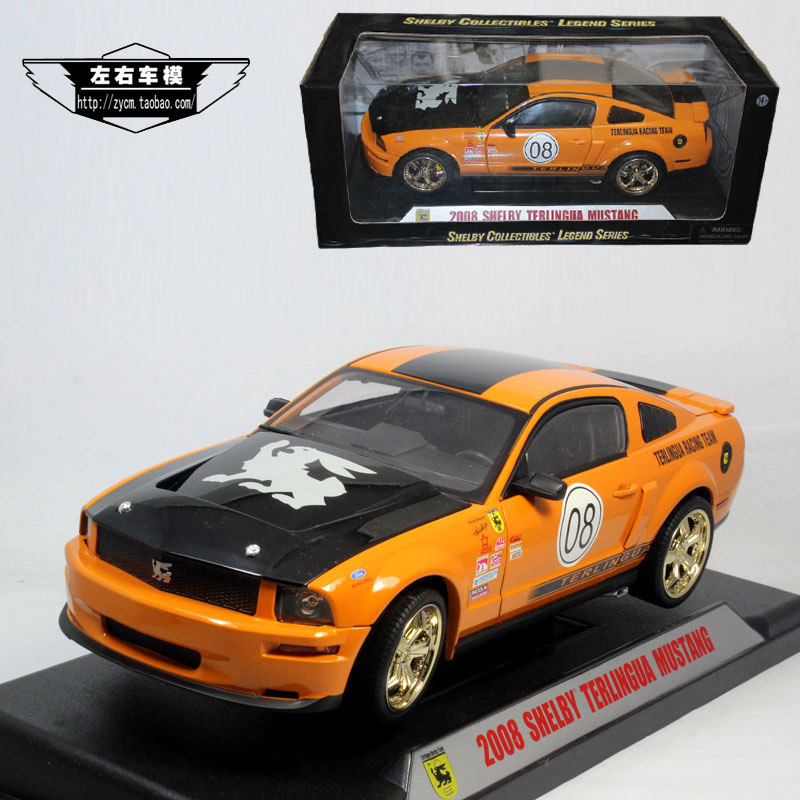 Shelby 1:18 Shelby terlingua 2008 ford mustang 08 model # alloy car(China (Mainland))