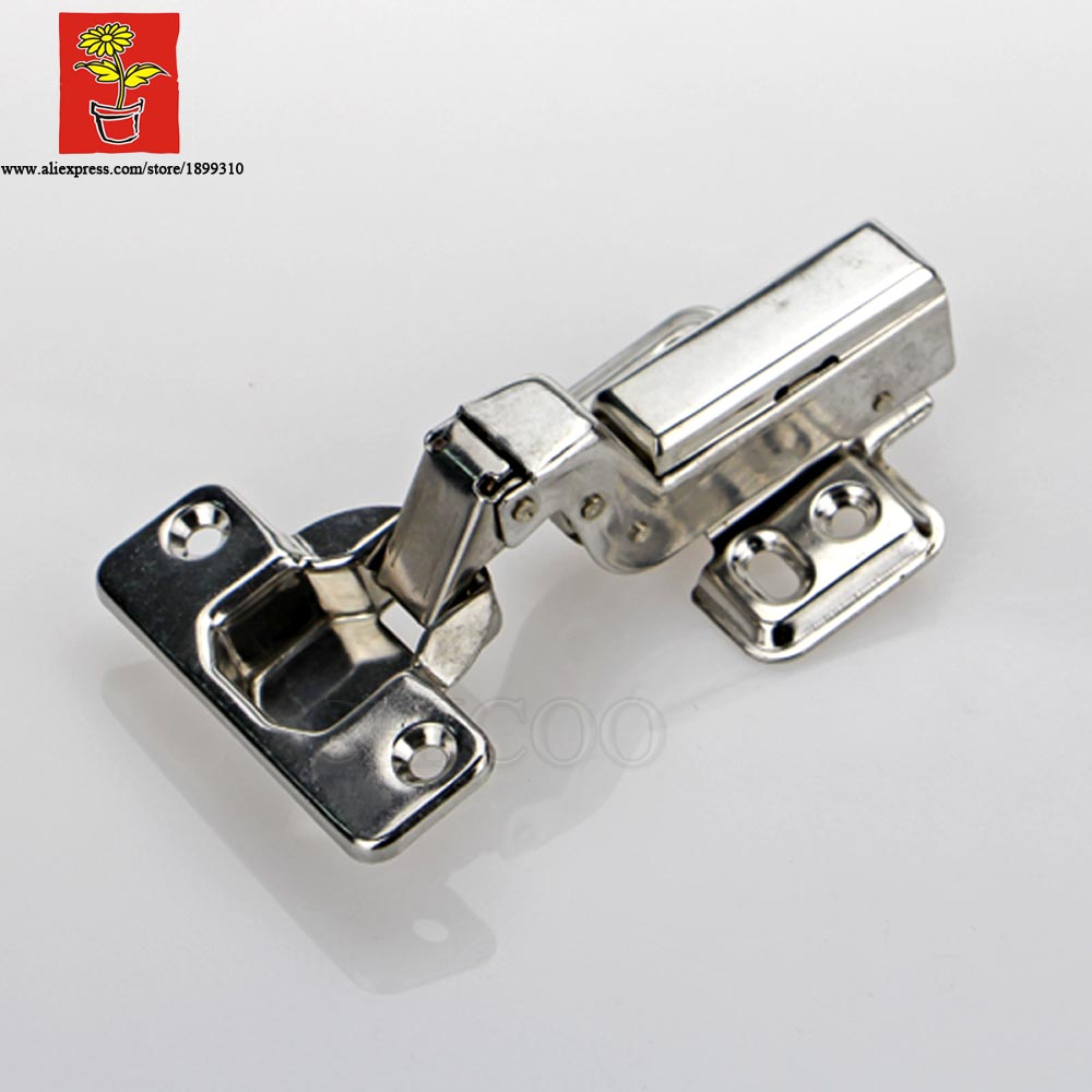 50 Piece Stainless Steel 304 Conceal Adjustable Inset Hinge Embed Hydraulic Furniture Hinge Kitchen Cabinet Hinges(China (Mainland))
