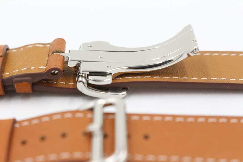 Развертывание Пряжки Один Тур Кожаный ремешок для apple watch ремешок для iwatch ремень для Гермес смотреть band