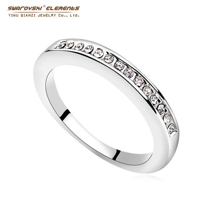 2015 best quality unisex made with swarovski elements for Best quality wedding rings
