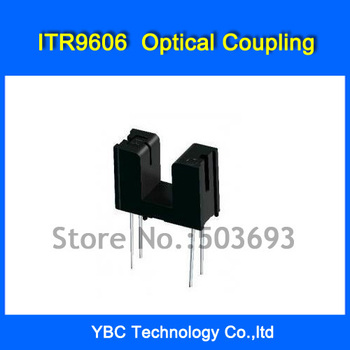Free Shipping 100pcs/lot ITR9606 ITR-9606 DIP-4 Trough Type Optical Coupling Photoelectric Switch