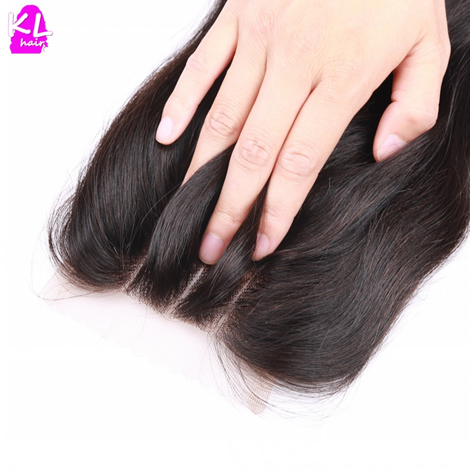 Brazilian Straight Lace Closure 7A Bleached Knot Free Middle 3 Part Closure Best Rosa 4*4 Brazilian Virgin Hair Lace Closure(China (Mainland))