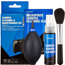 4 IN 1Digital Camera Cleaning Kit With 30ml Screen Cleaner Lens Cleaning Cloth Cleaning Brush Mini Air Blower Free Shipping(China (Mainland))