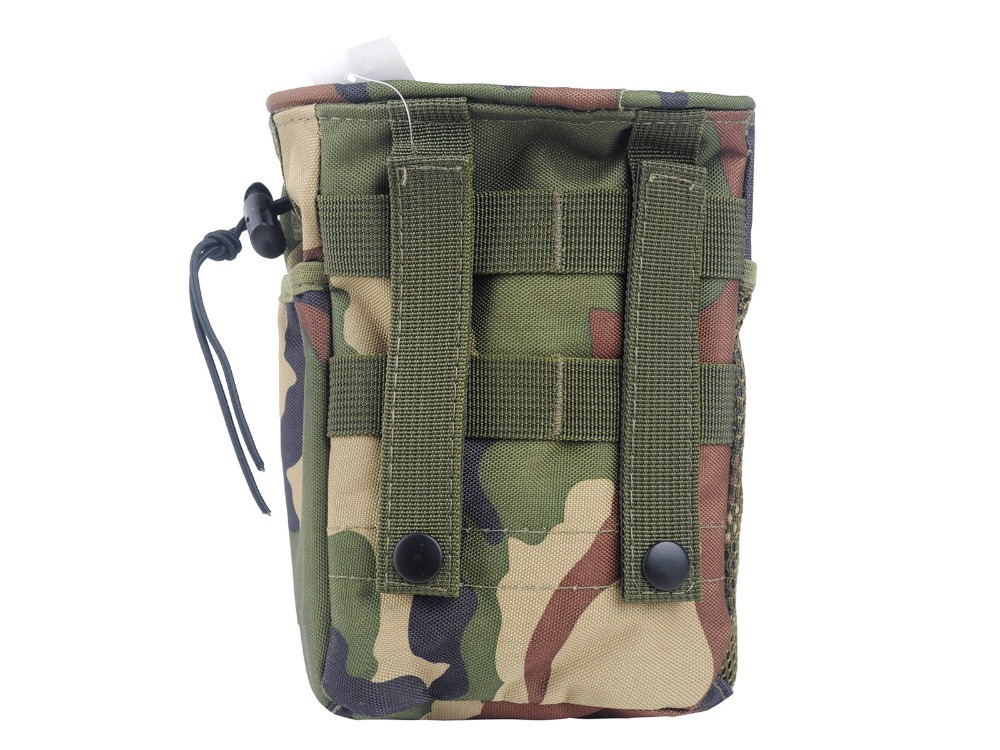 Men's Nylon Waterproof Molle Tactical Military Recycle Collection Small Pouch Carrying Bag with Drawstring(China (Mainland))
