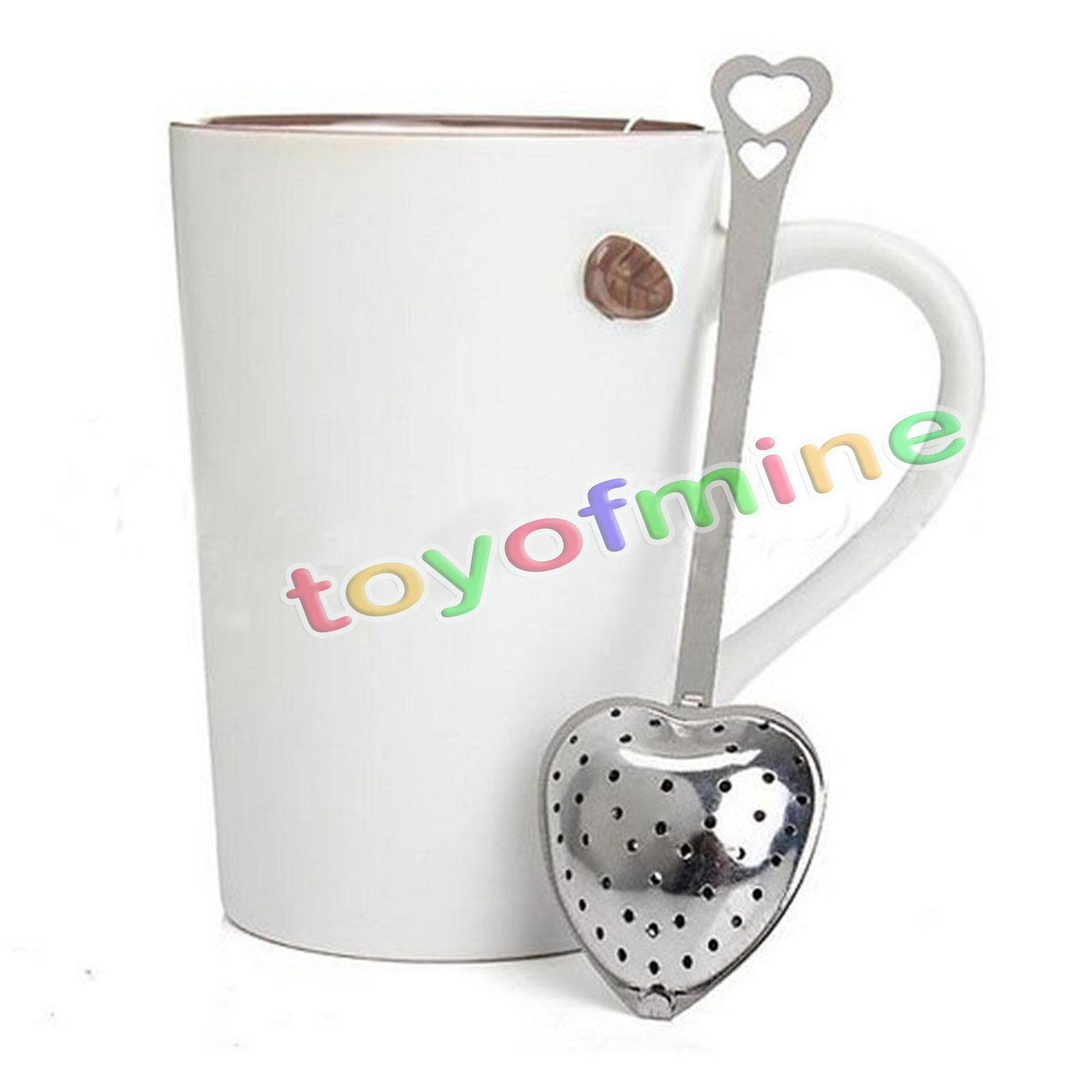 New Stainless Steel Loose Tea Infuser Leaf Strainer Filter Diffuser Herbal Spice(China (Mainland))