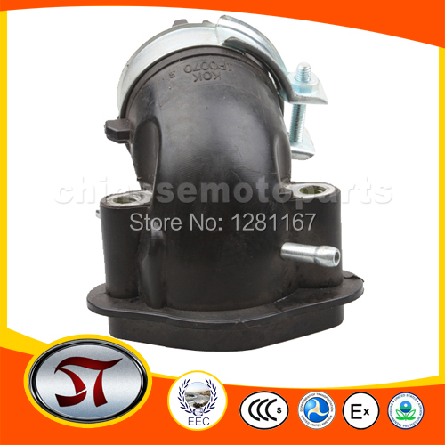 Intake Manifold Pipe for GY6 50cc Moped+eternal good quality free shipping(China (Mainland))