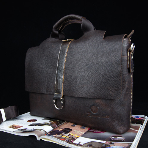 Style crazy horse leather first layer of cowhide man bag casual genuine leather handbag messenger bag