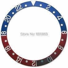 Red & blue Pepsi watch bezel insert 1675 16750 watch accessory(Hong Kong)