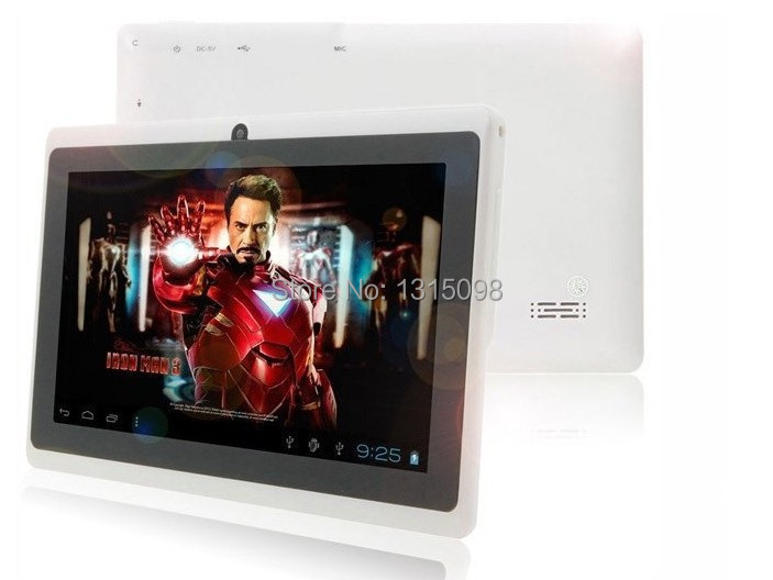 Dual core 7 inch Yuntab tablet Q88, Allwinner A23, Android tablet pc, DDR3 512MB ROM 8GB, Wifi Dual camer Exteinal 3G FM OTG(China (Mainland))