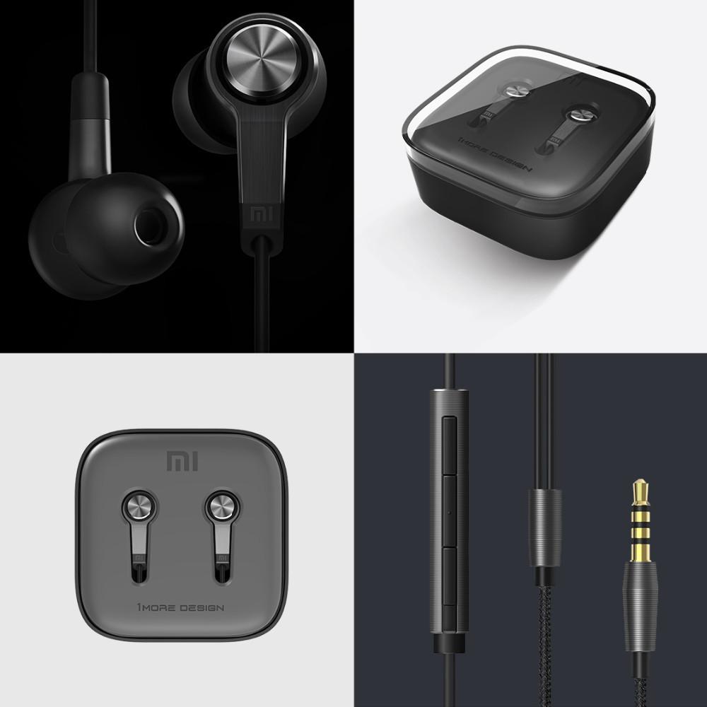 Original Xiaomi Piston 3rd Earphone piston 3 Ear Earphones Headphone Headset Remote Mic Lenovo Android Phone - FYSD Digital Technology Co., Ltd store