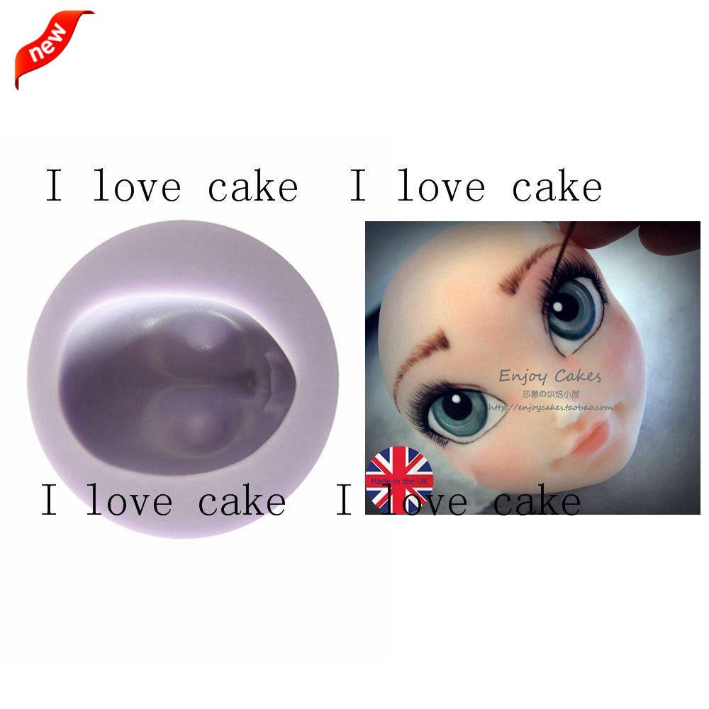 Gril head silicone mould wilton cake mold cupcakes silicone liquid silicone for molds cake tools bakery forma bolo de gelo814(China (Mainland))