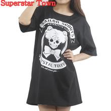 Buy Harajuku Shirt Anime Sailor Moon Gothic T-shirt Lolita Tops Tee Cute Kawaii Clothing Punk T Shirt Cotton Blusa Peplum Tops for $12.74 in AliExpress store