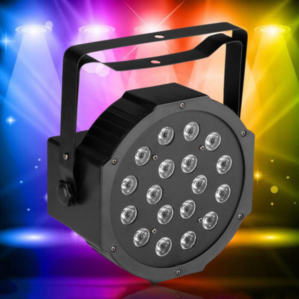 2016 Hot Style 18 RGB LED Stage Light Disco DJ Bar Effect UP Lighting Show DMX Strobe<br><br>Aliexpress