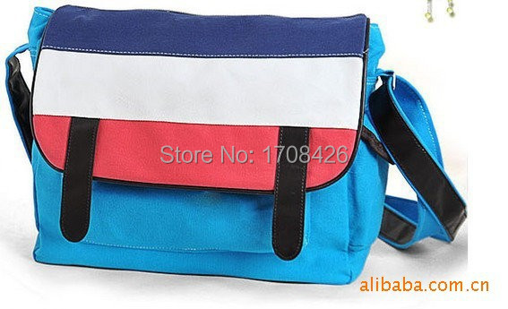 Ms. fashion casual canvas satchel handbag factory wholesale class travel(China (Mainland))