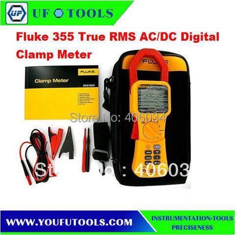 100% Brand New Fluke 355 AC/DC TRUE RMS Clamp Meter Fluke Clamp Meter 2000A(China (Mainland))