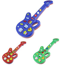 Children Toys Electronic Guitar Toy Nursery Rhyme Music Children Baby Kids Gift Baby Early Educational Plastic Toy High Quality(China (Mainland))
