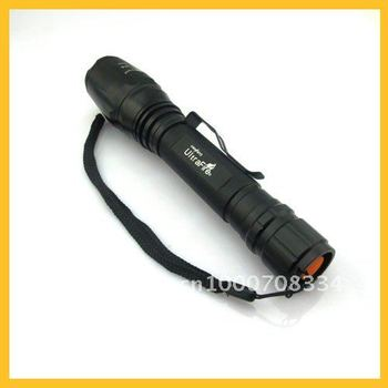 Free Shipping 1000 Lumens CREE XM-L XML T6 LED Flashlight  Battery Hiking Bicycle Front Torch CS0066