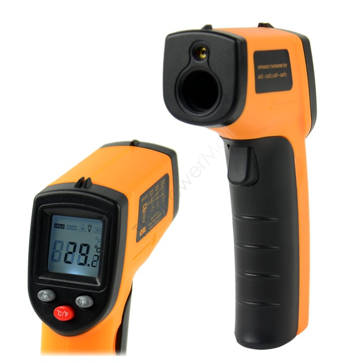 Big Sale!!! Digital Non-Contact LCD IR Laser Infrared Temperature Thermometer Gun Point GM320 -50~330 Degree 41(China (Mainland))