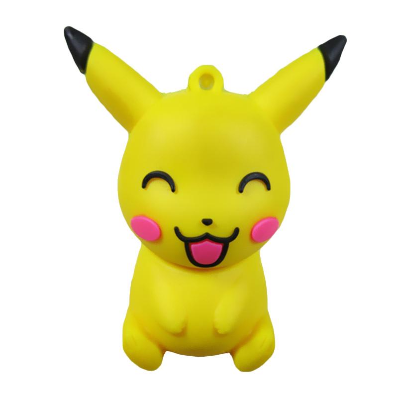 Pen drive cartoon smile Pikachu 8gb 16gb 32gb 64gb usb 2.0 flash drive memory card stick disk Storage Device pendrive gift(China (Mainland))