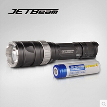 Origial JetBeam RRT-2 Cree U2 LED Tactical Flashlight Camping Hunting Hiking Fishing Bicycle tactical Torch w/18650 Battery - Shenzhen LUV CO.,LTD Store store