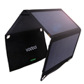 1Pcs Vodool Fordable 21W 23 5 Efficiency Solar Panel with 2 MIC Ports Portable 5V 2A