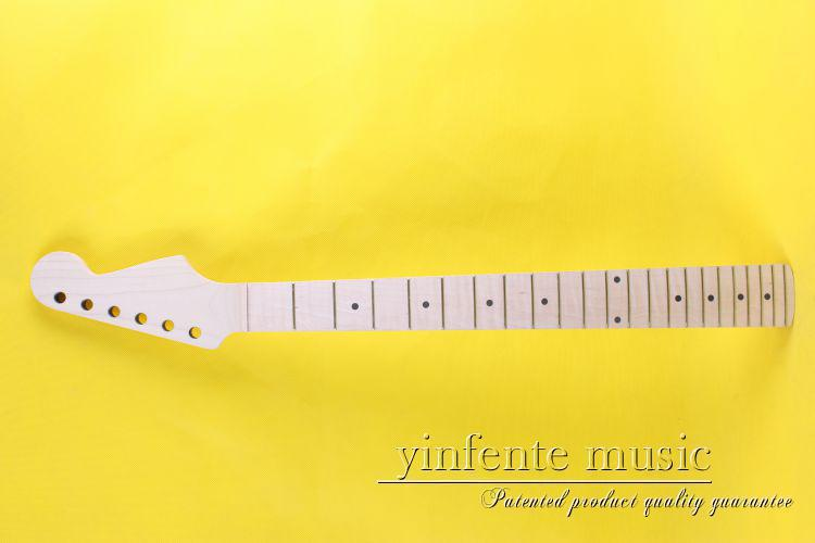 The new wood Electric Guitar Maple neck essence whitening fingerboard unfinished head(China (Mainland))