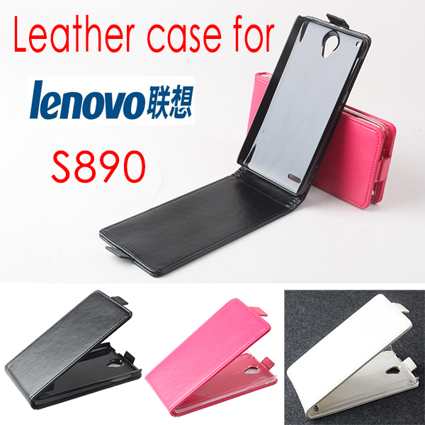 BW High Quality New Original For Lenovo S890 Leather Case Flip Cover For Lenovo S 890 Case Phone Cover In Stock Free Shipping(China (Mainland))