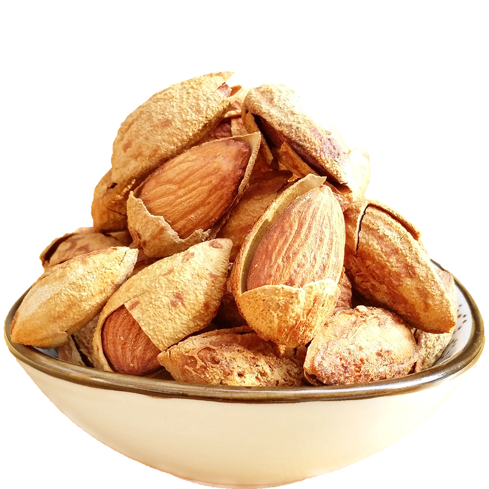 500g dried Almond Kernels badam nuts fruit badanmu apricot Delicious healthy Chinese snacks rich nutrition fruit