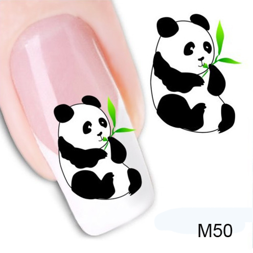 1Pcs 3D Water Decals Nail Strips For French Manicure Decoration Nails Art Cute DIY Transfer Stickers Manicure Design Nail Tools(China (Mainland))