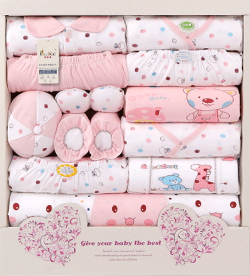 Baby Gift Set Packaging : Free shipping pure cotton new born baby gift set box