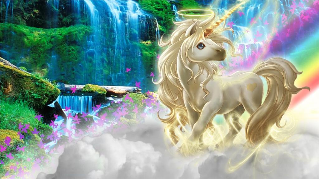 3d nature photos promotion achetez des 3d nature photos for Decoration murale licorne