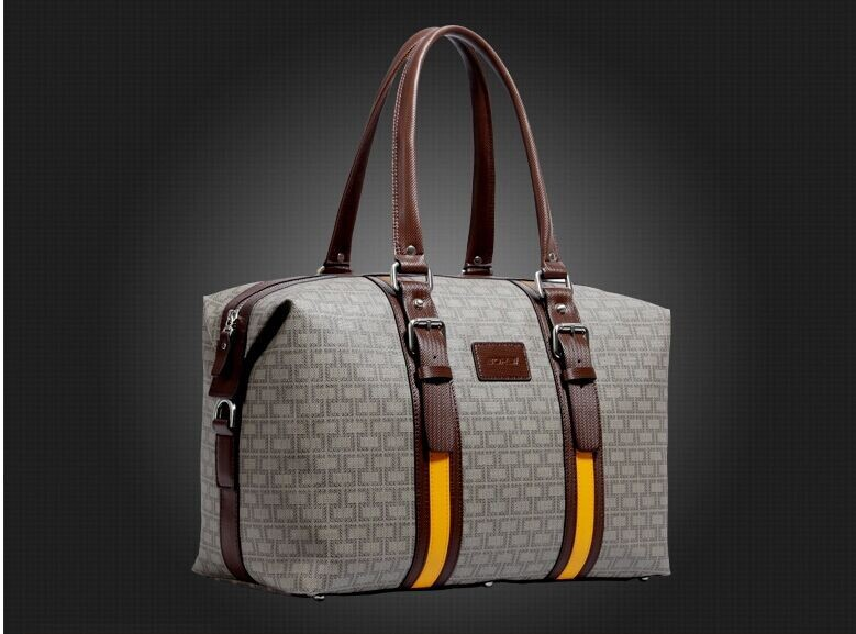 Male portable travel bag duffel bag large capacity commercial travel package vintage luggage travel bag<br><br>Aliexpress