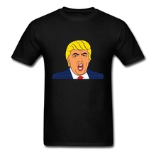 Buy Brand Hot Sale Mens Donald Trump Tee Shirts Boys Soft Cotton O Neck Leisure XXXL Film Shirts Men for $12.98 in AliExpress store
